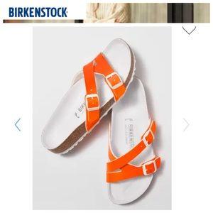 🔥🌺 BIRKENSTOCK Yao Patent Finish Sandal